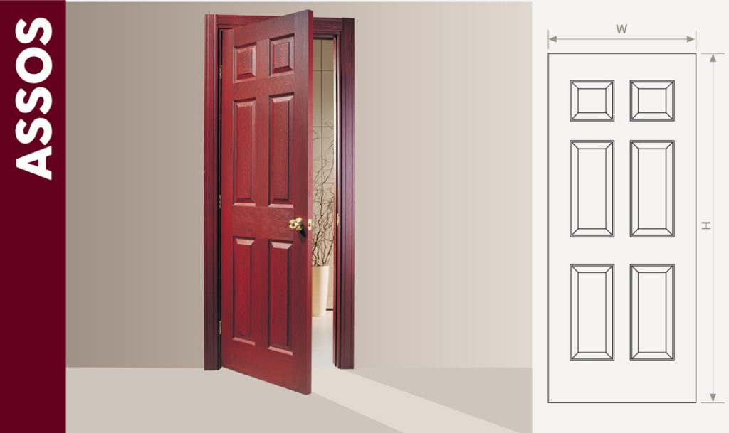 cheap interior wooden doors & PVC Laminated wooden door at all sizes low price with high quality